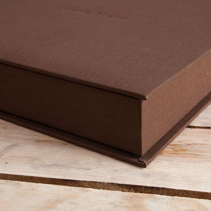 Caja lino book
