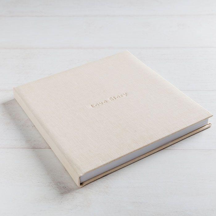 Lino Nature Marfil Libro