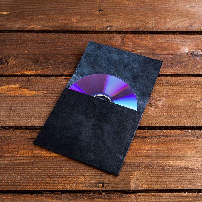 Porta-CD-Negro